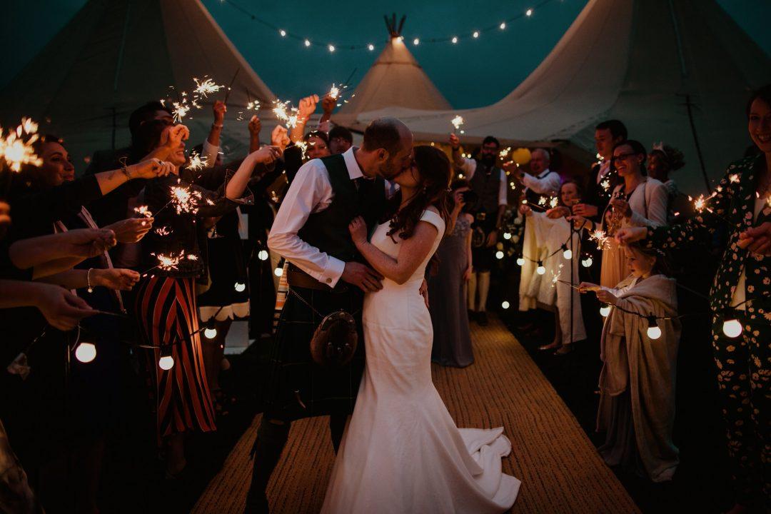 alternative wedding venue tipi