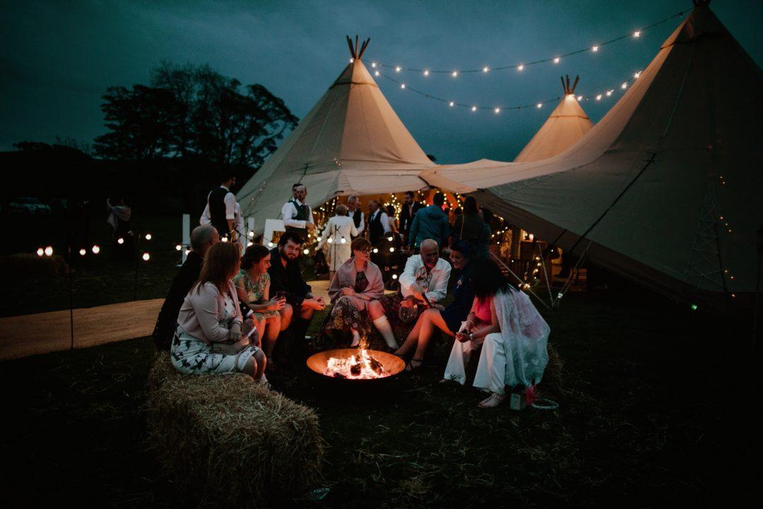 Boho wedding venue